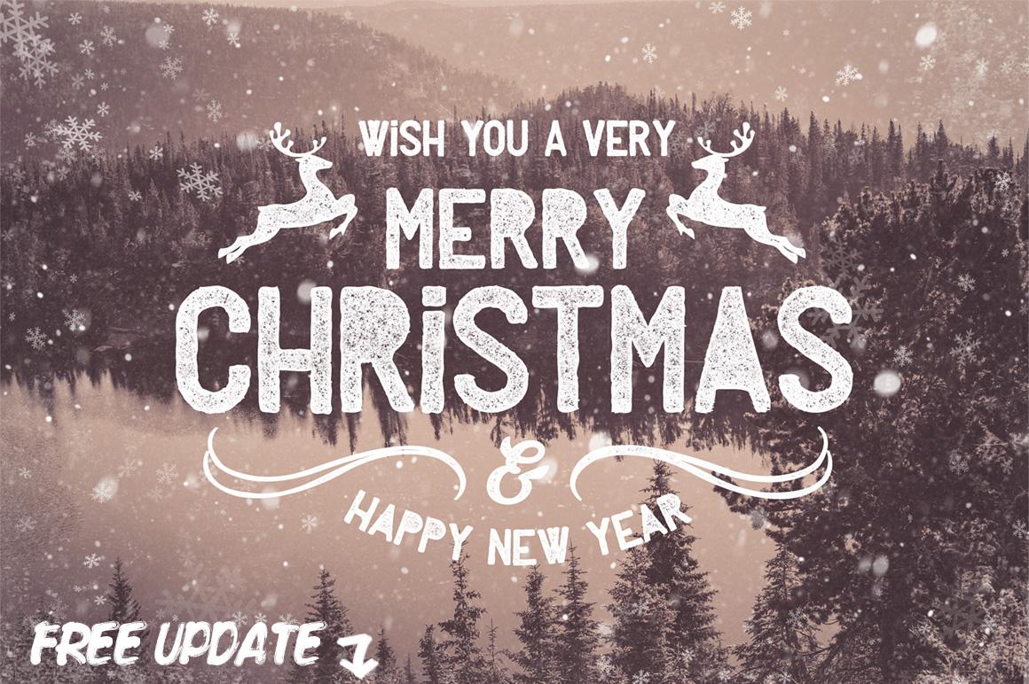 Christmas Photo Overlays example image 1