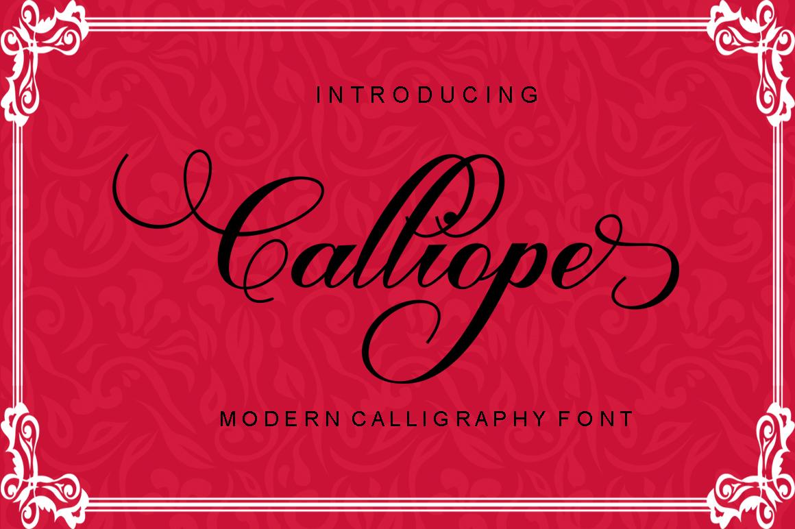 Calligraphy Script Bundle example image 11