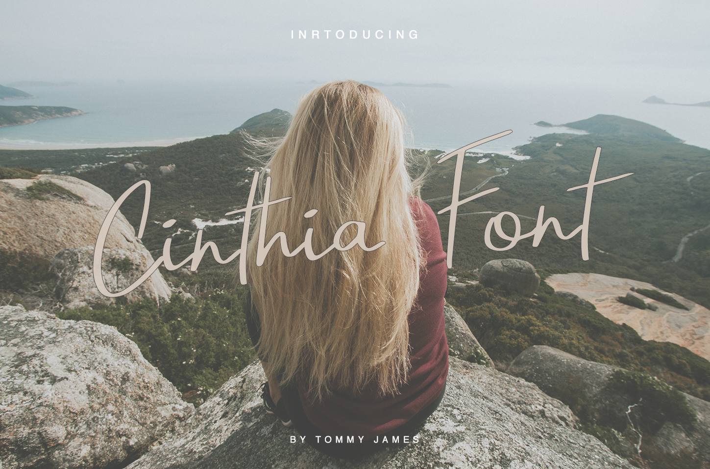 40 in 1 font bundle by Tommy James example image 5