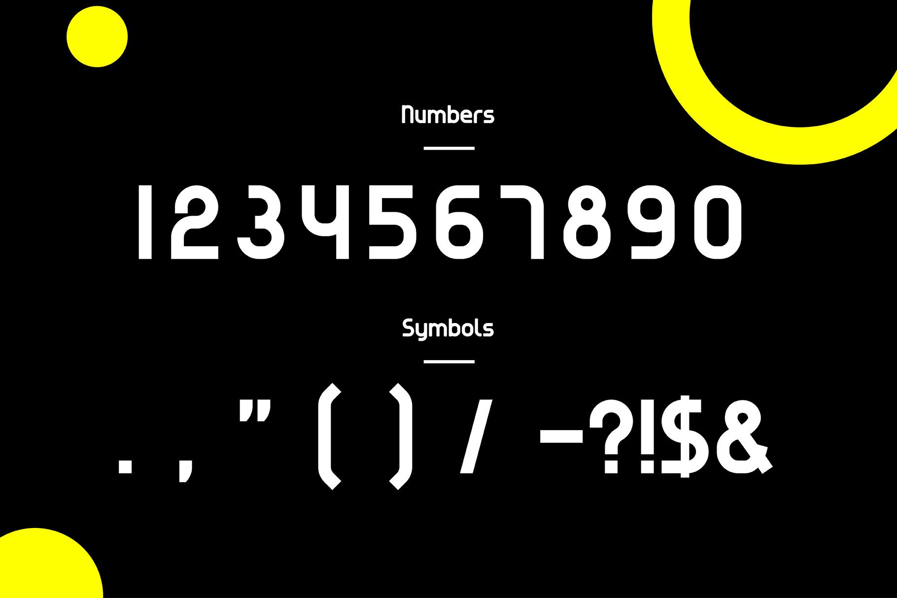 Evo - Sans&Decorative Typeface example image 8