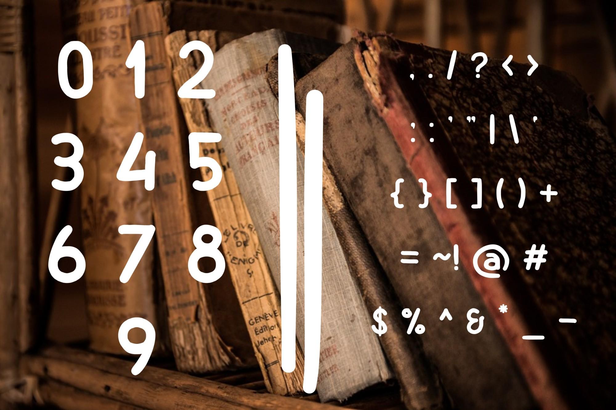 Billiony Typeface Font example image 6