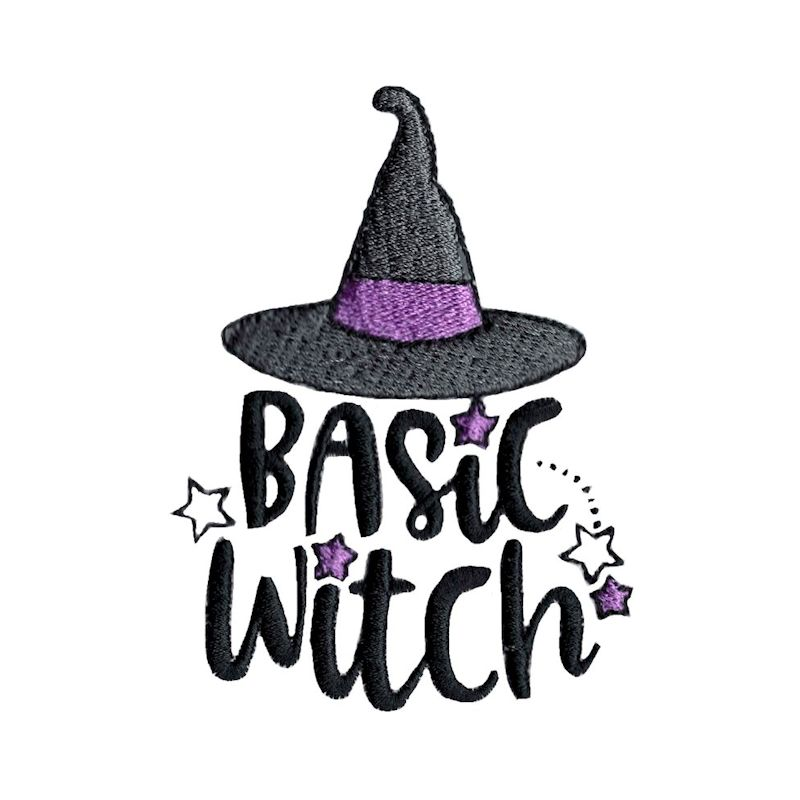 Halloween Sentiments Four - 12 Machine Embroidery Designs example image 9