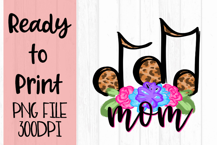Doodle Mom Music Ready to Print example image 1