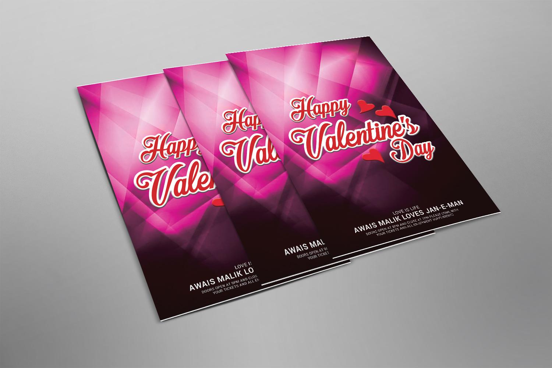 Valentines Flyer example image 2