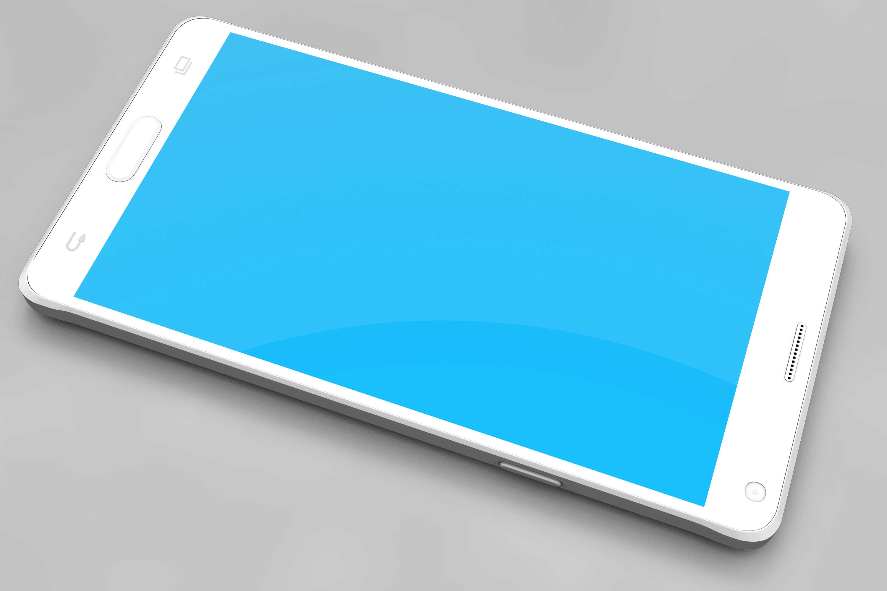 Samsung Galaxy Note 4 Mock-up example image 4