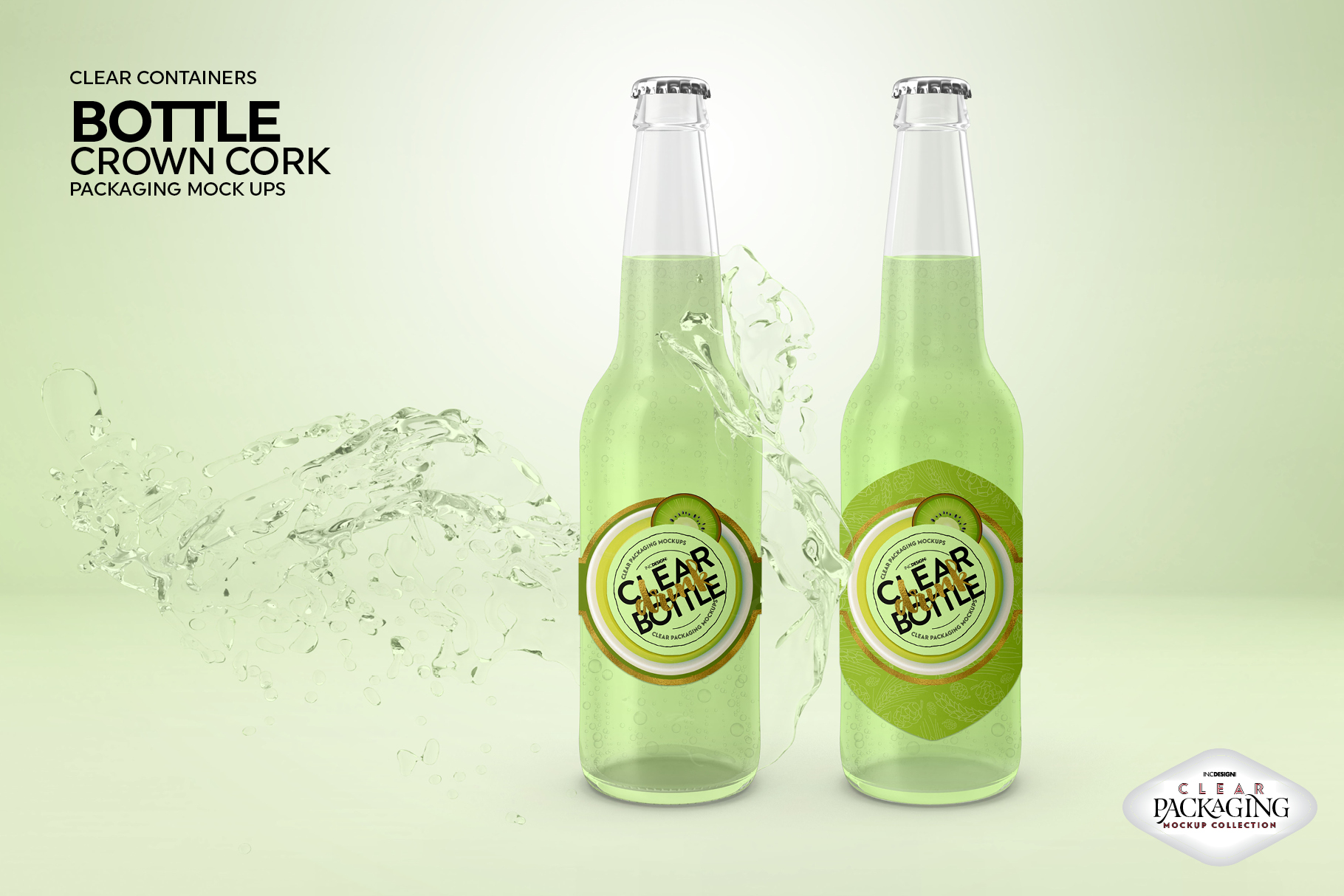 Crown Cork Bottle Mock Up example image 5