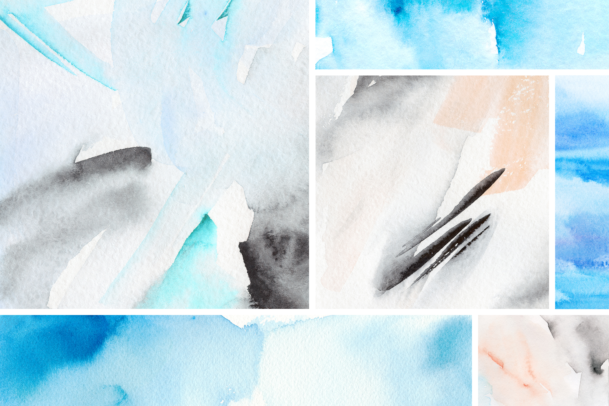 Watercolor Graphics Bundle example image 2