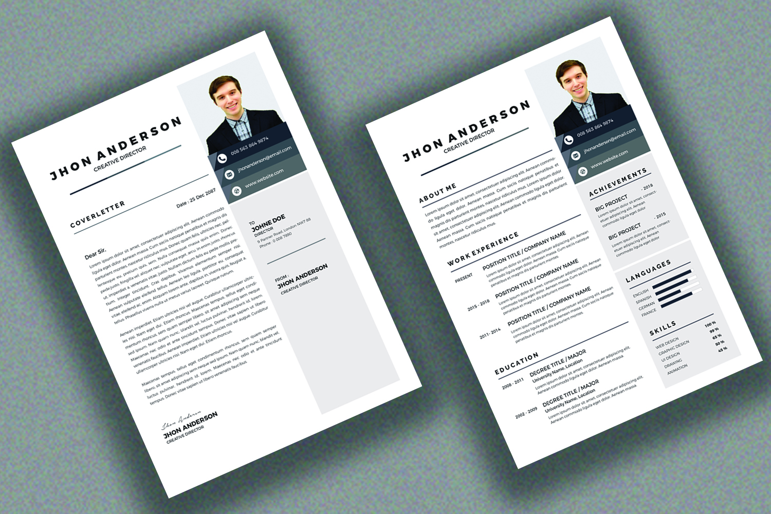 Resume /CV Template  example image 5