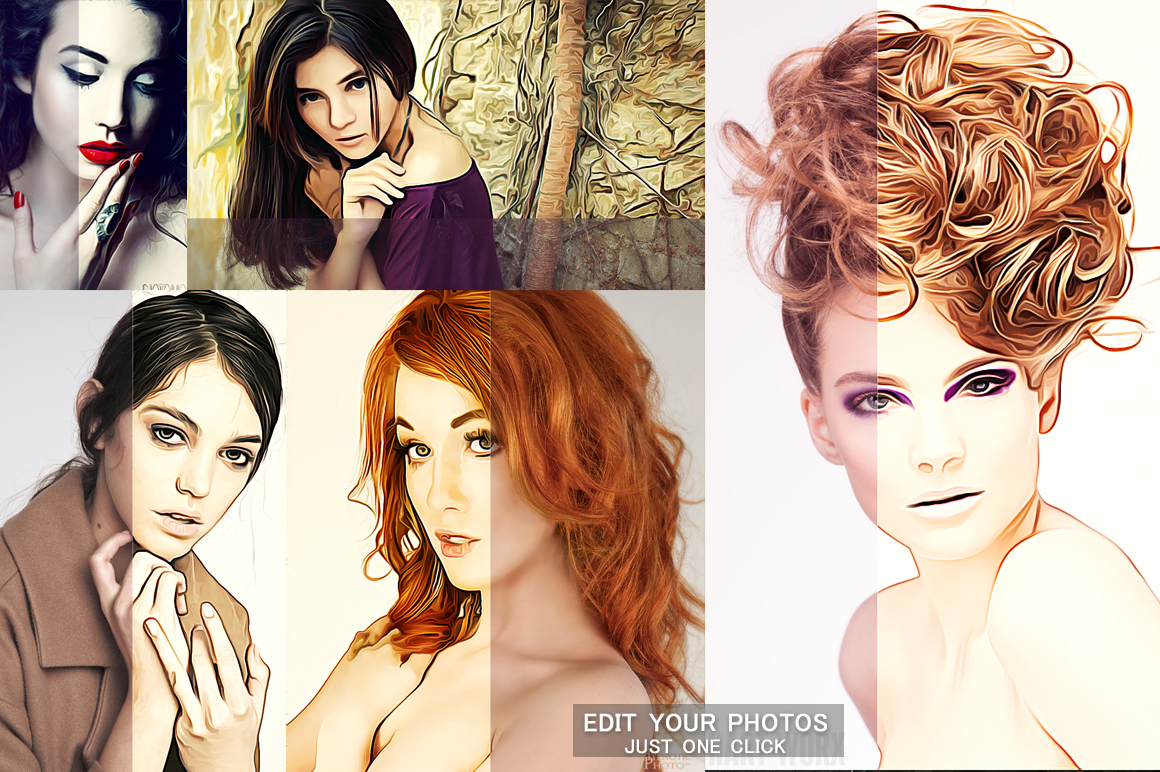 Creative Oil Paint Photoshop Action example image 4