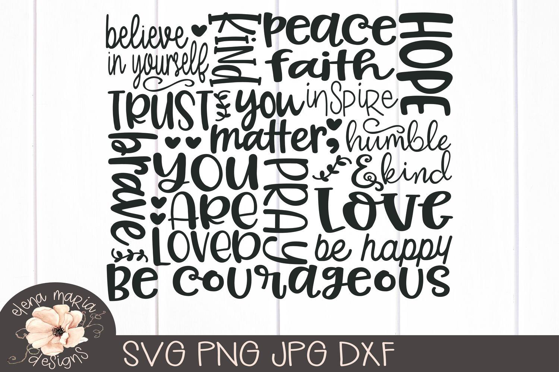 Semicolon Svg | You Matter Svg Jpg Png Dxf Cricut Cut Files example image 2