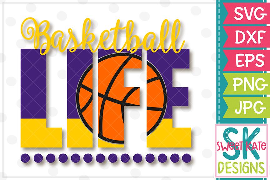 Basketball Life SVG DXF EPS PNG JPG example image 2