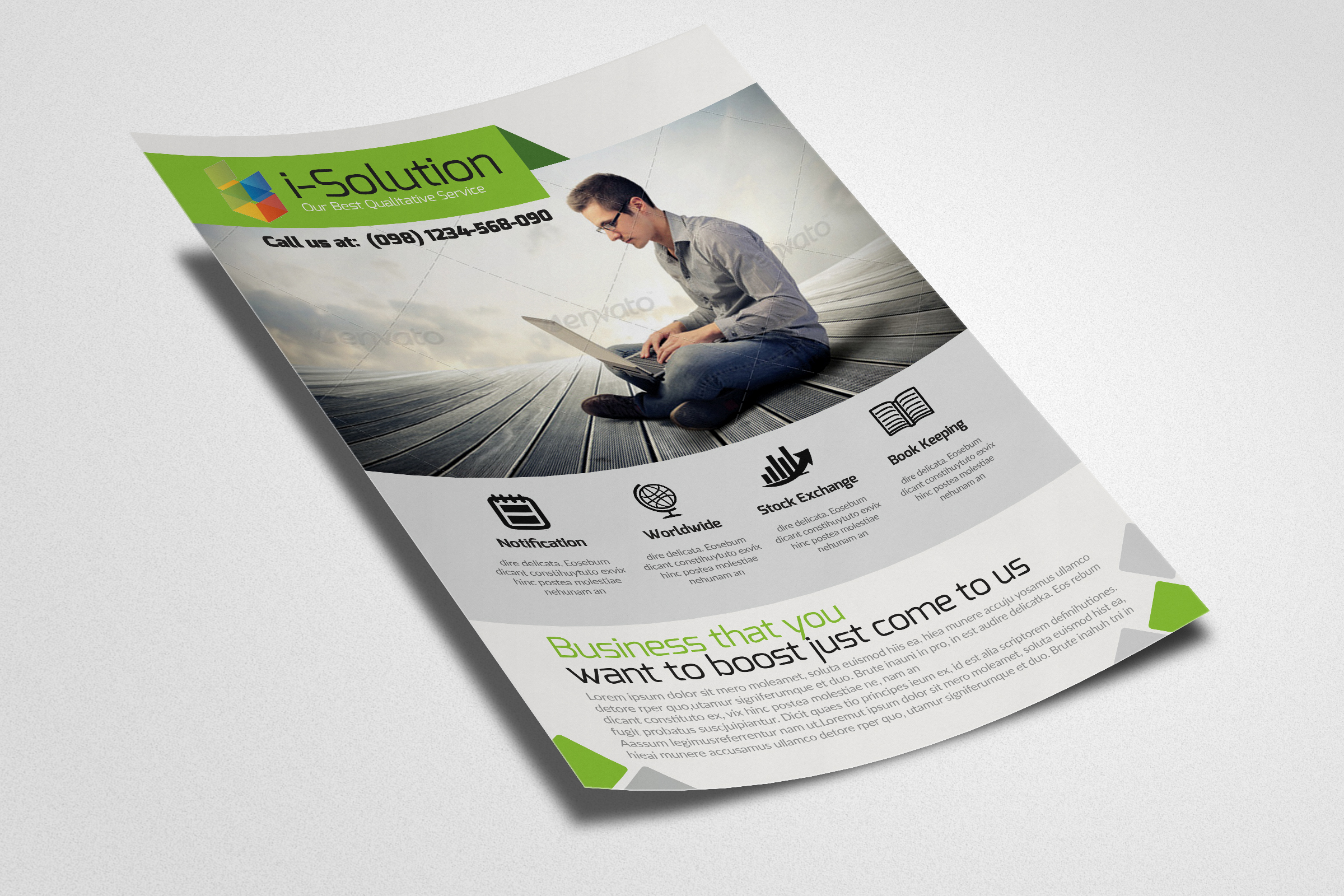 Business Insurance Agency Flyer example image 3