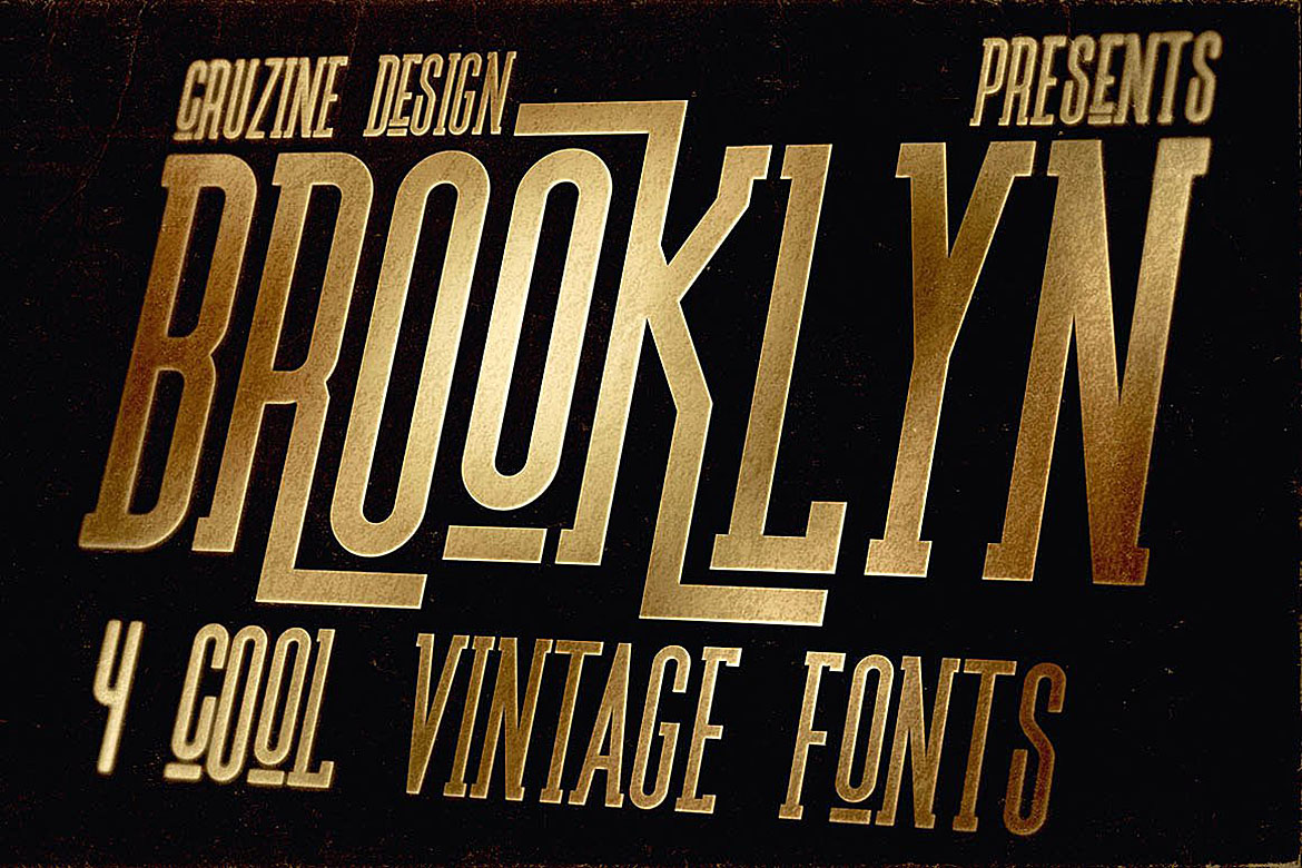 Brooklyn Typeface example image 4