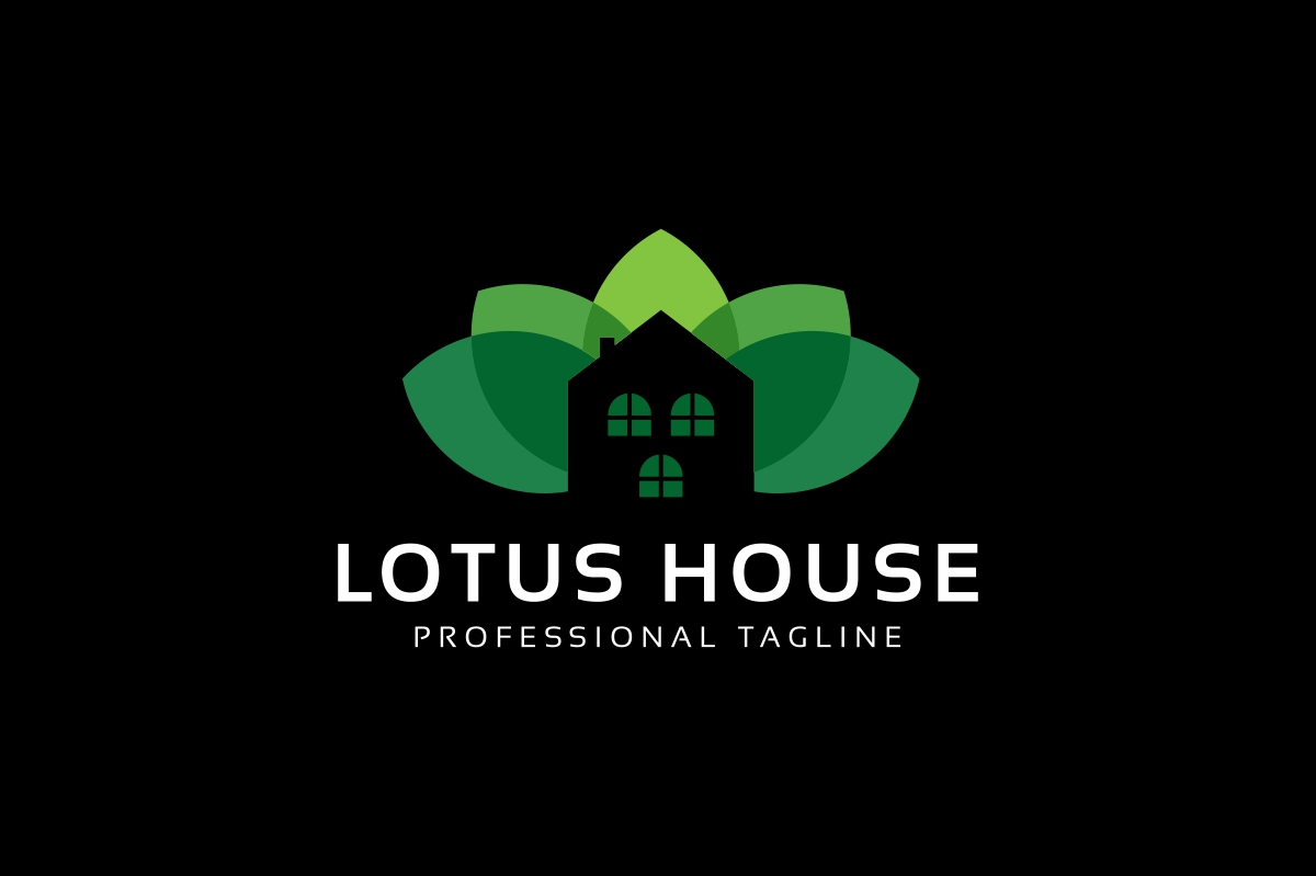 Lotus House Logo example image 2