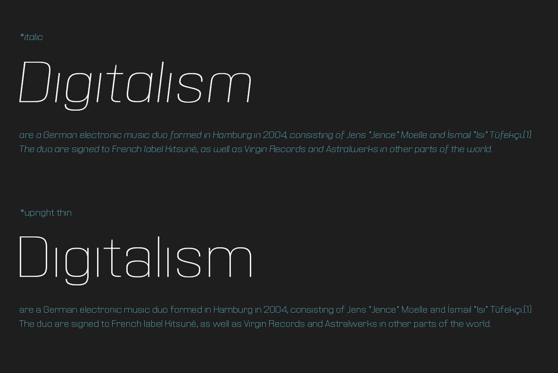 Querta - minimalist sans example image 3