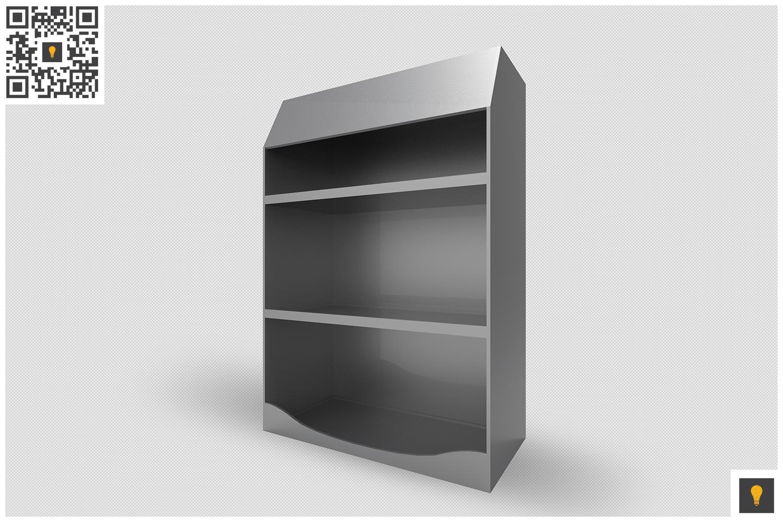 Promotional Shelf Display 3D Render example image 5