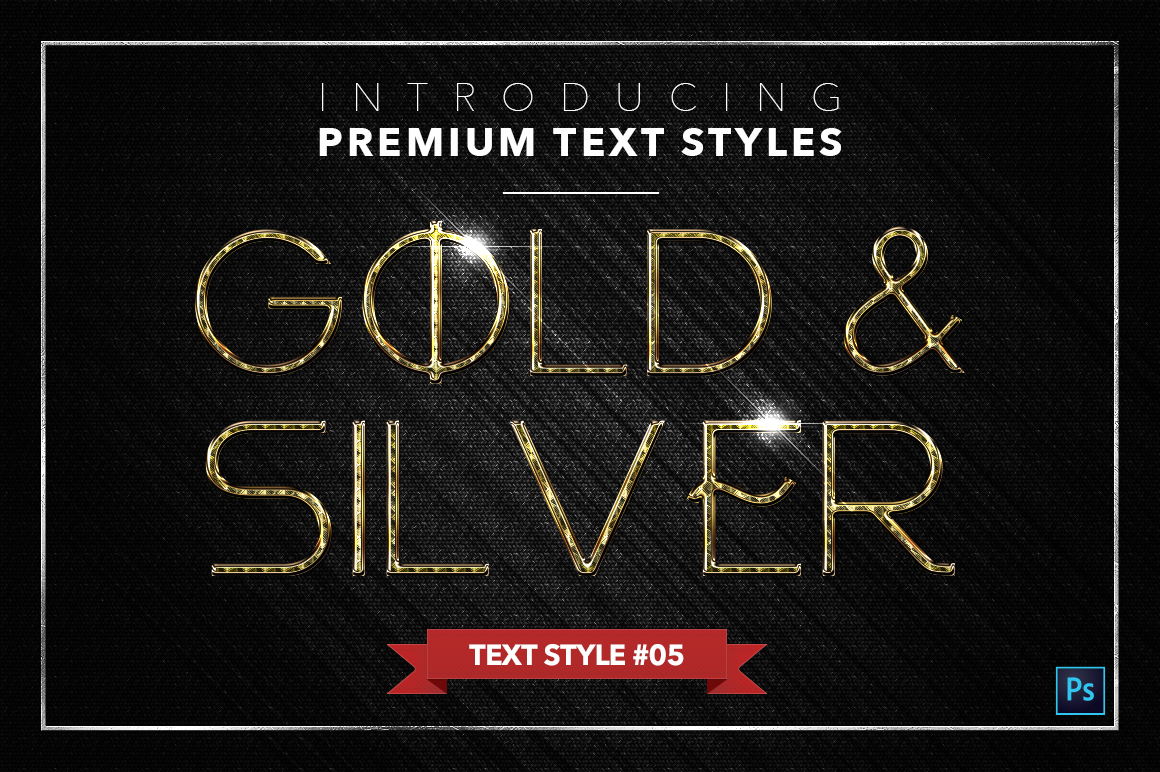 Gold & Silver #3 - 15 Text Styles example image 14