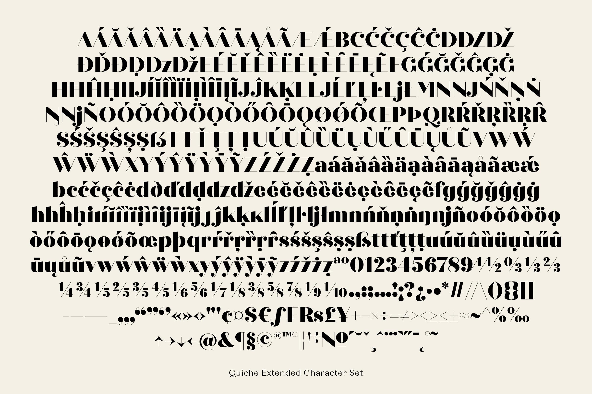 Quiche Fine Black Font example image 9