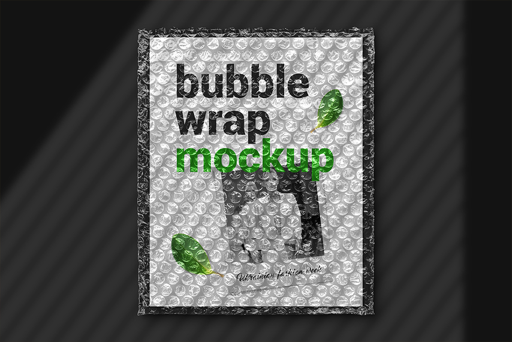 Bubble Wrap Mockup example image 4