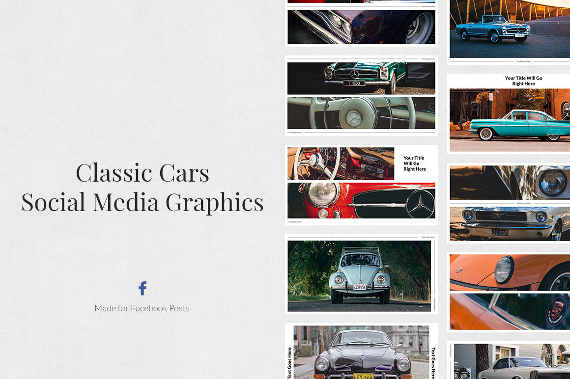 Classic Cars Pack example image 5