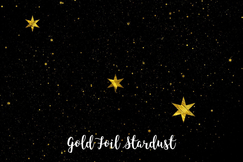 Gold Foil Stardust, Transparent PNG example image 7