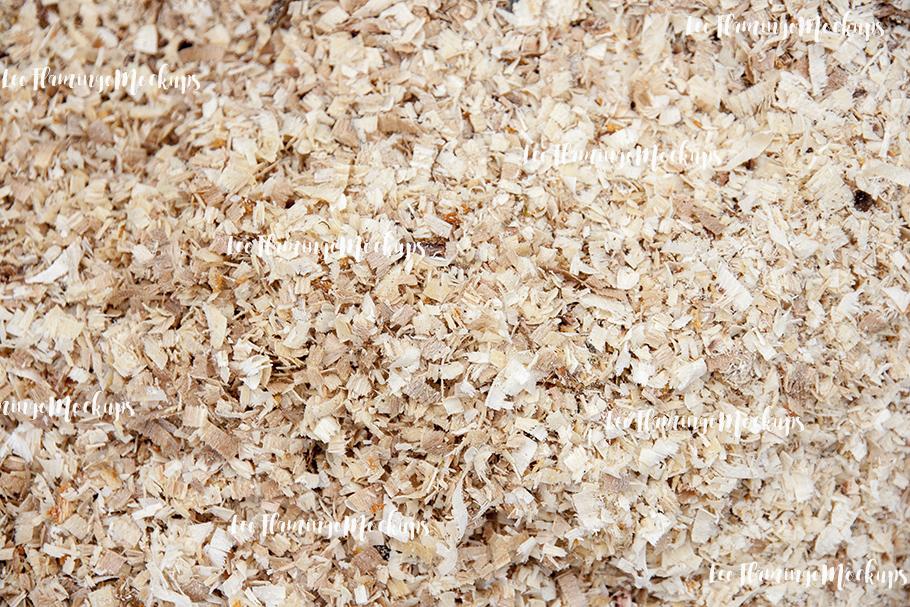 Sawdust wood chips stock photo background image example image 1
