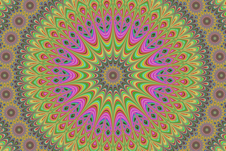 5 fractal mandala design backgrounds example image 2