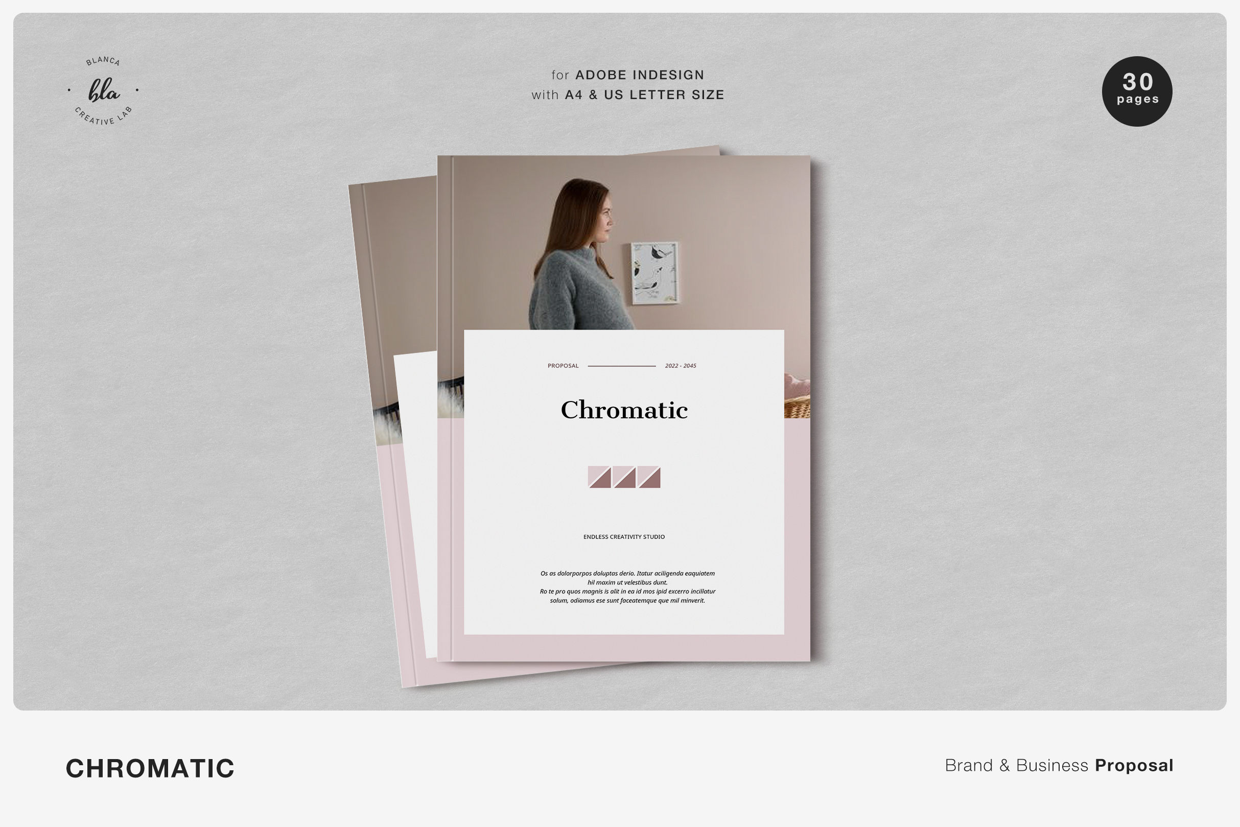 CHROMATIC Brand & Business Proposal example image 1