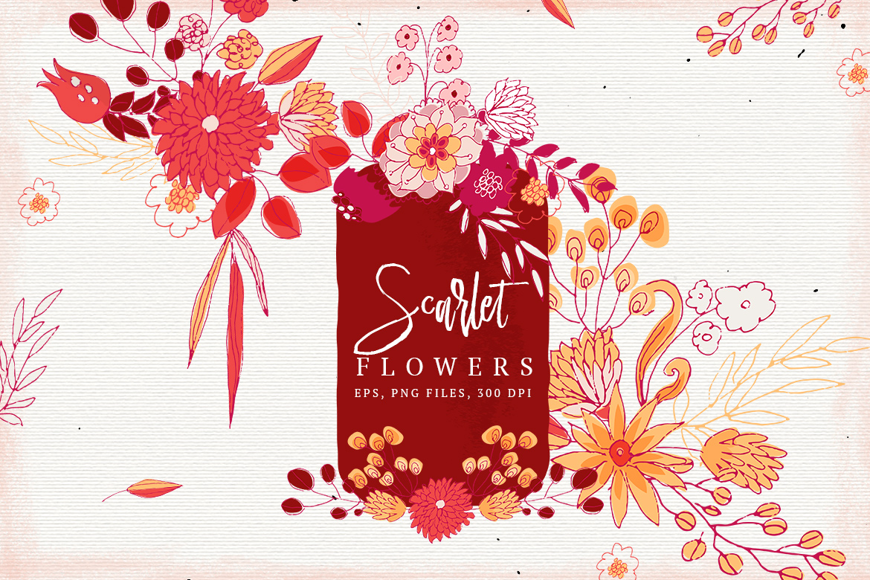 Scarlet Flowers example image 1