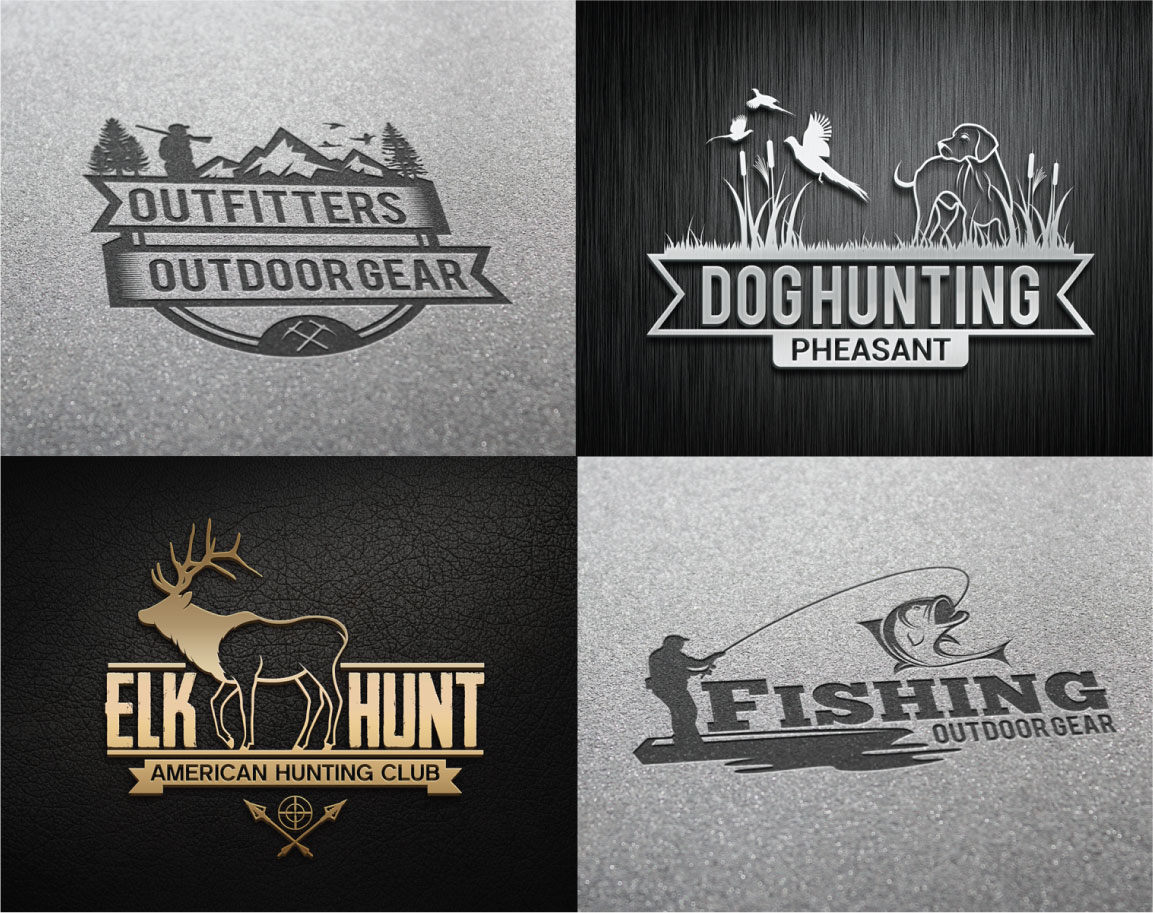 Hunting Vintage Badges and Logos example image 3