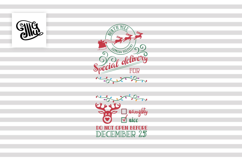 Christmas wine bag example image 2