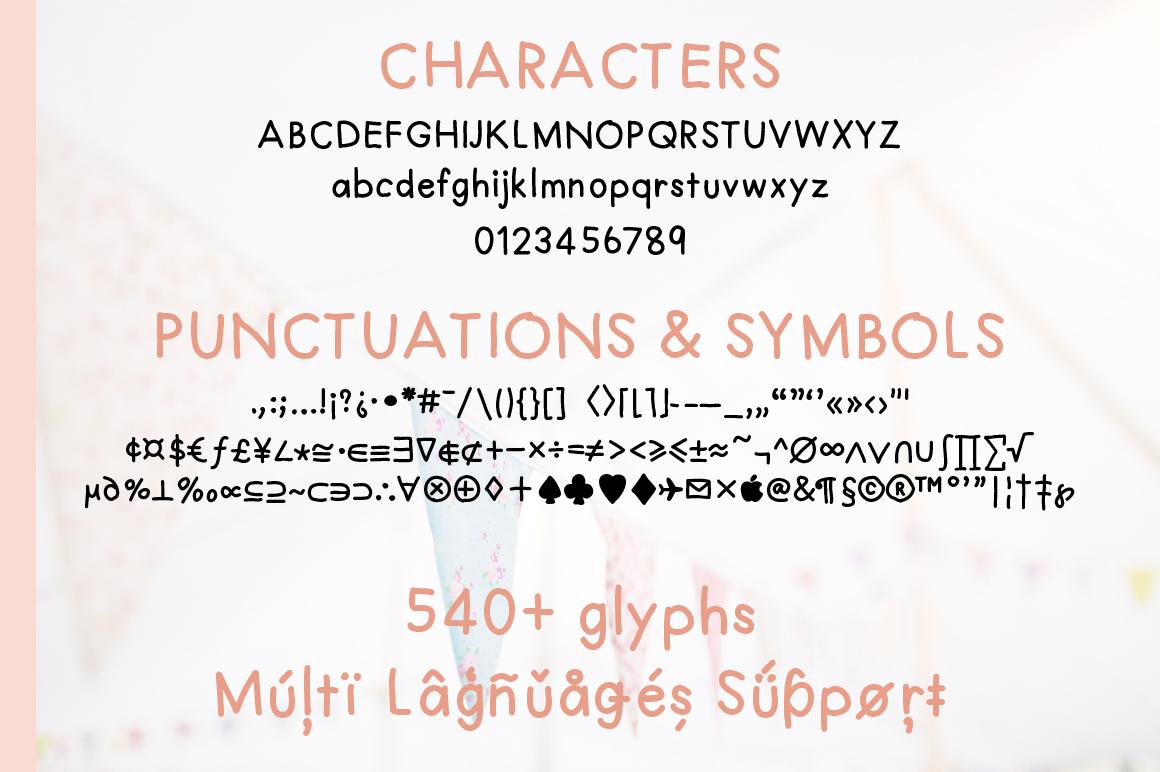 TomoSans Sans Serif Typeface example image 6
