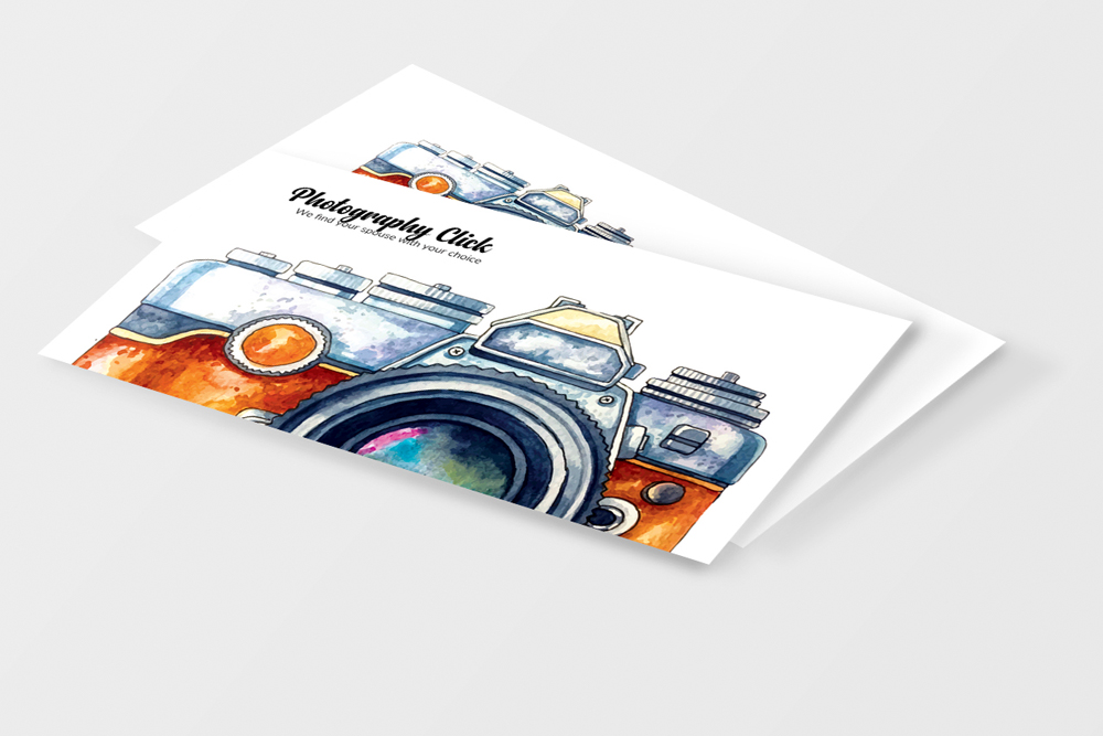 Photography Business Cards example image 4