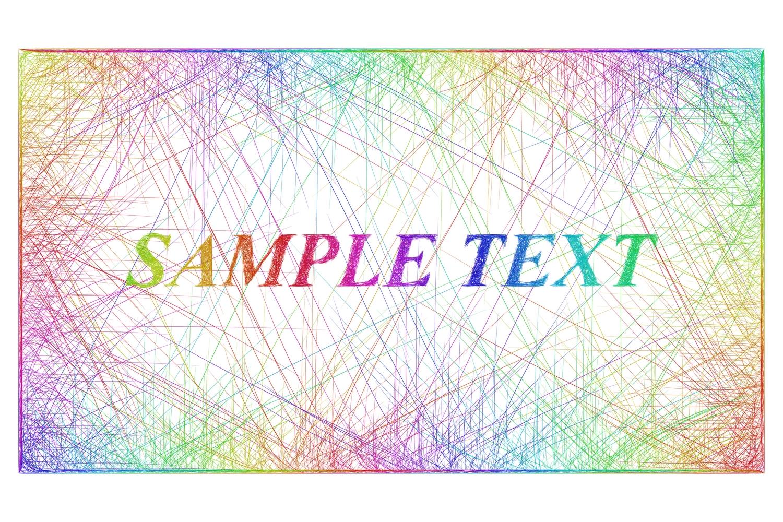 16 sketch frame designs (AI, EPS, JPG 5000x5000) example image 3
