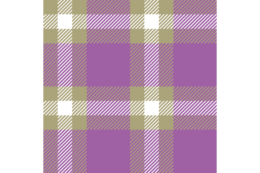 Set of 12 seamless vector tartan backgrounds.  example image 12