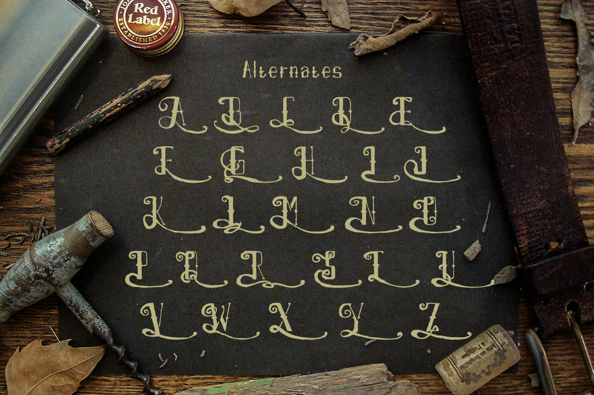 Airpena Rustic Font example image 4
