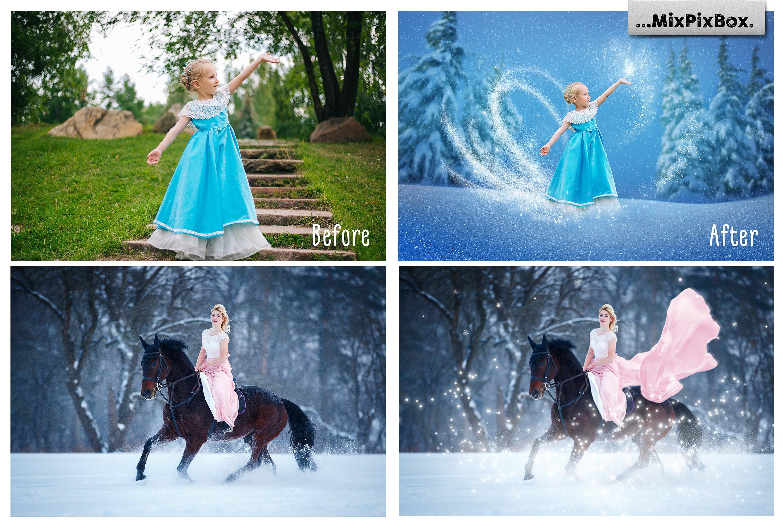 Snow Magic Overlays example image 6