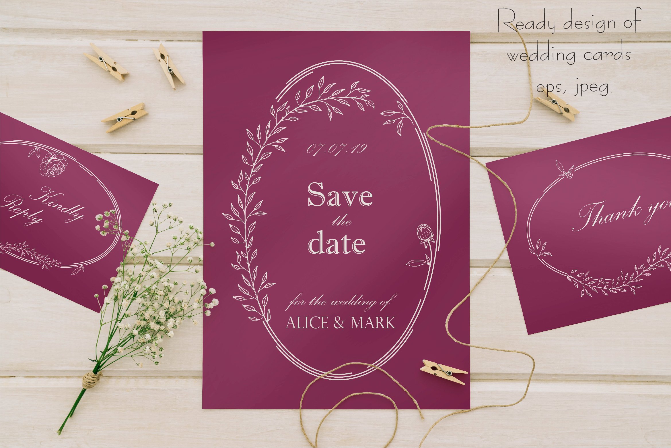 Amelie Floral Display Font example image 15