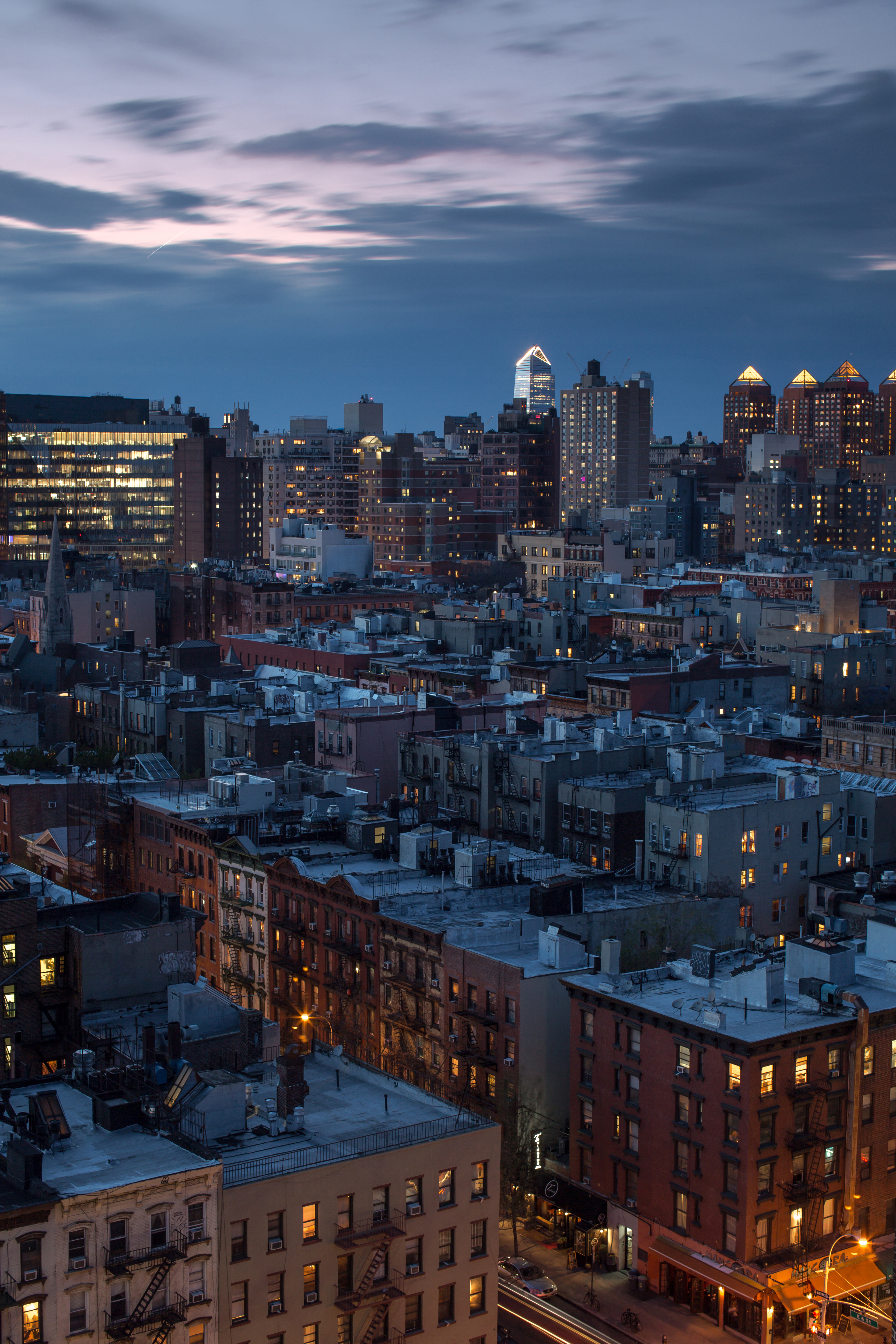 Aerial view on east village, Manhattan example image 1