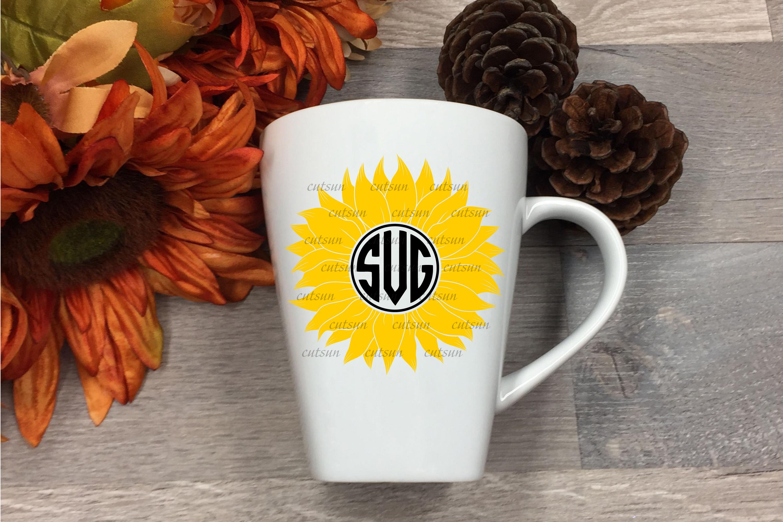 Sunflower SVG bundle   Floral bundle SVG example image 11