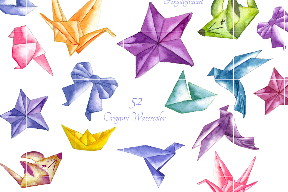 origami clipart example image 4