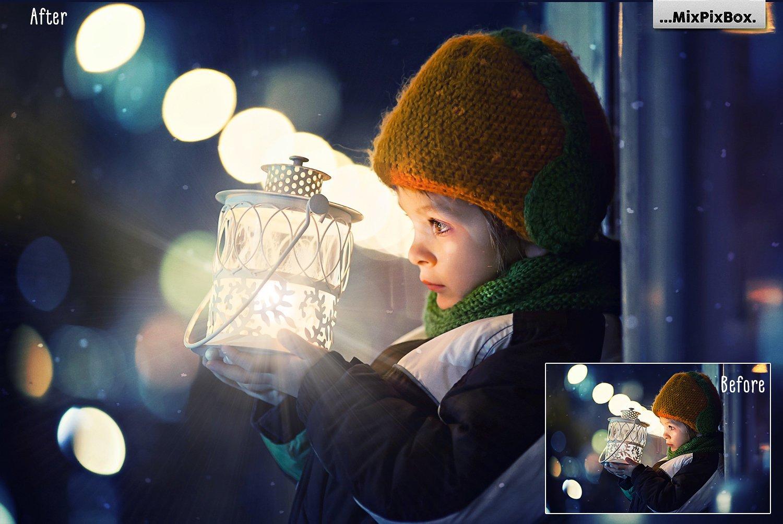 Lamp Light Photo Overlays example image 4