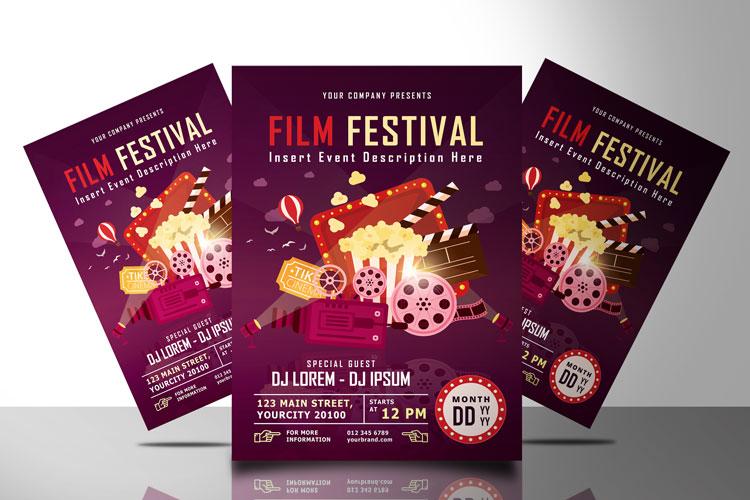 FILM FESTIVAL FLYER example image 1