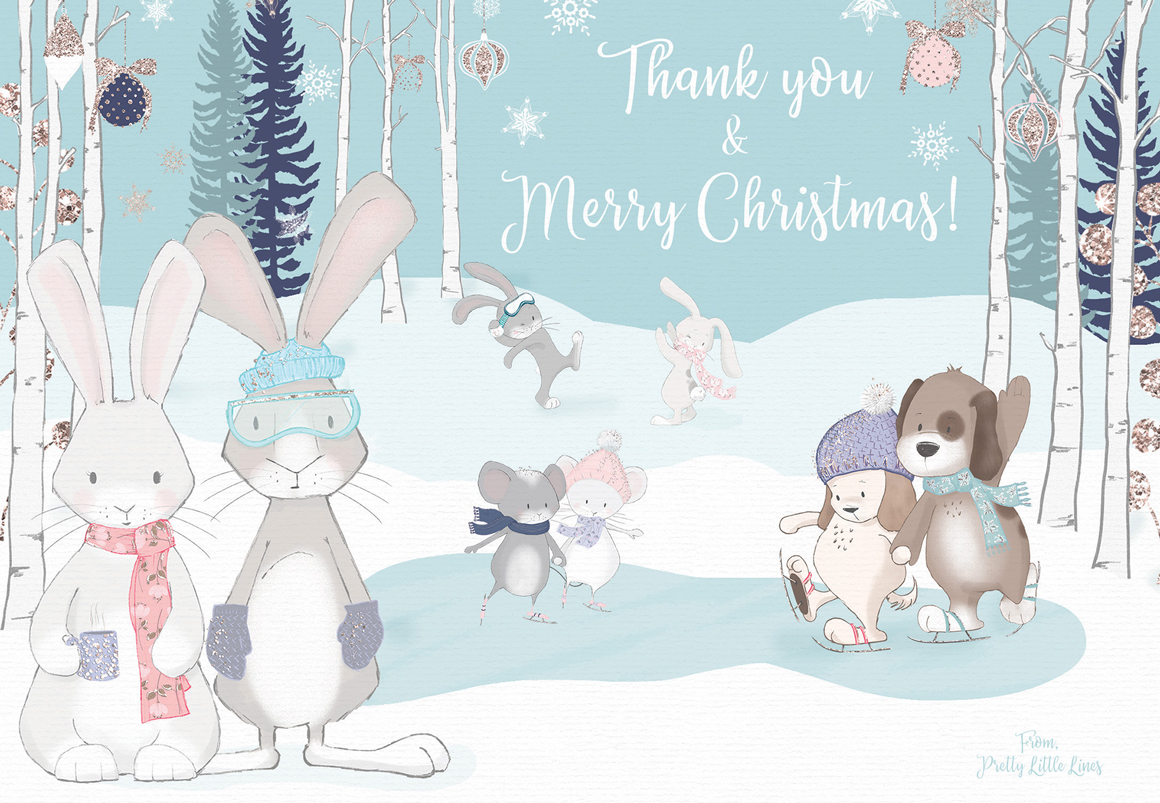 Winter Whimsy Clipart Collection example image 12