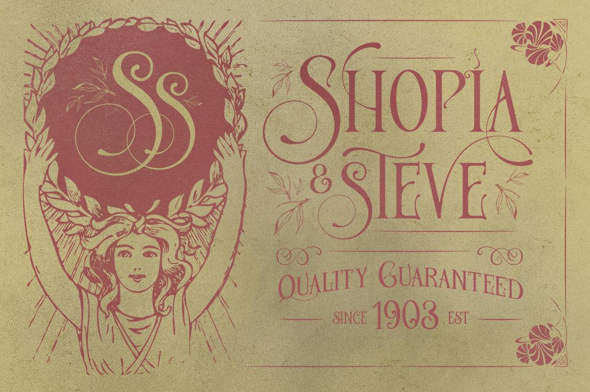 De Arloy Typeface example image 2