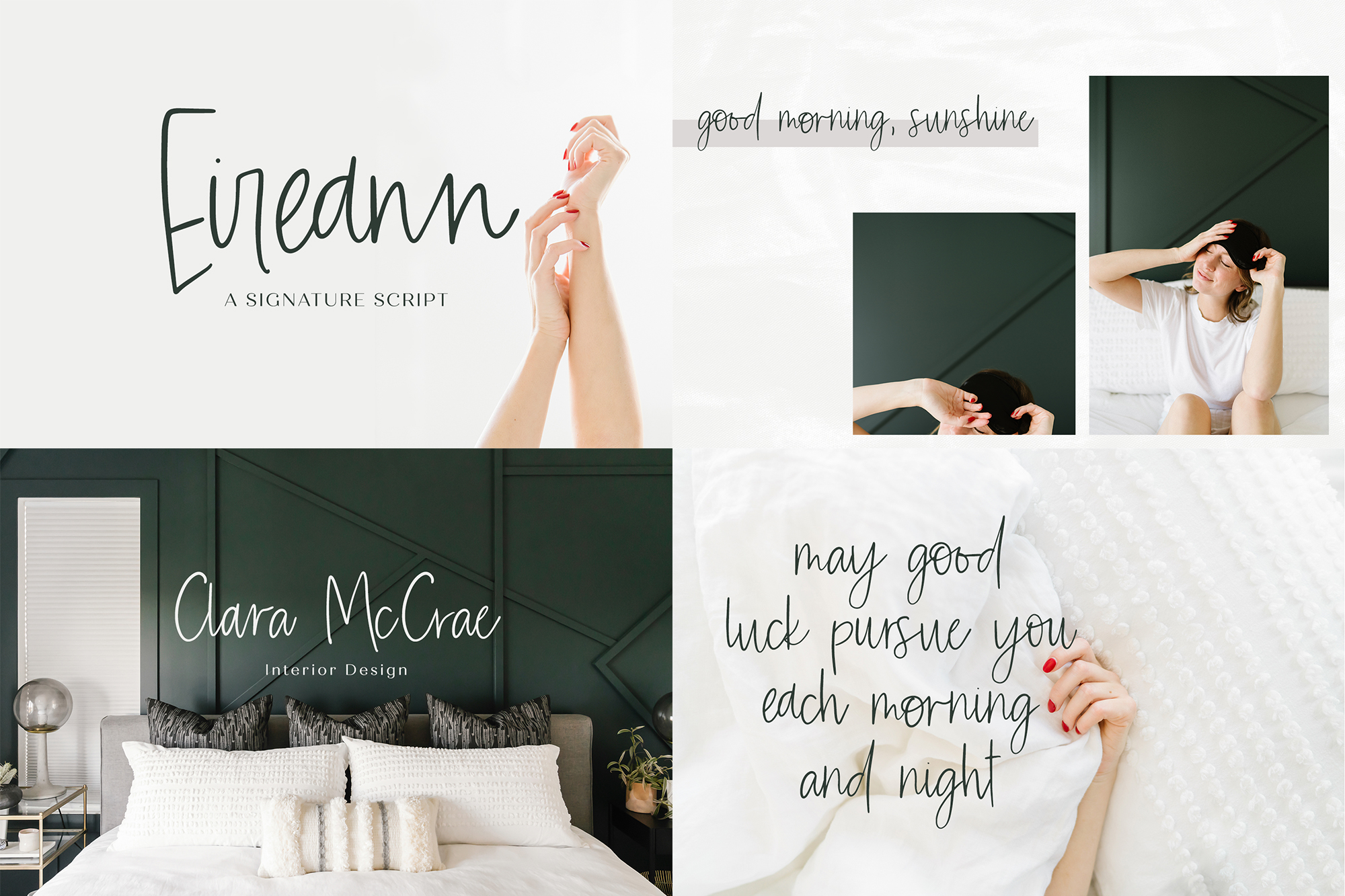 The Handwriting Font Bundle example image 6