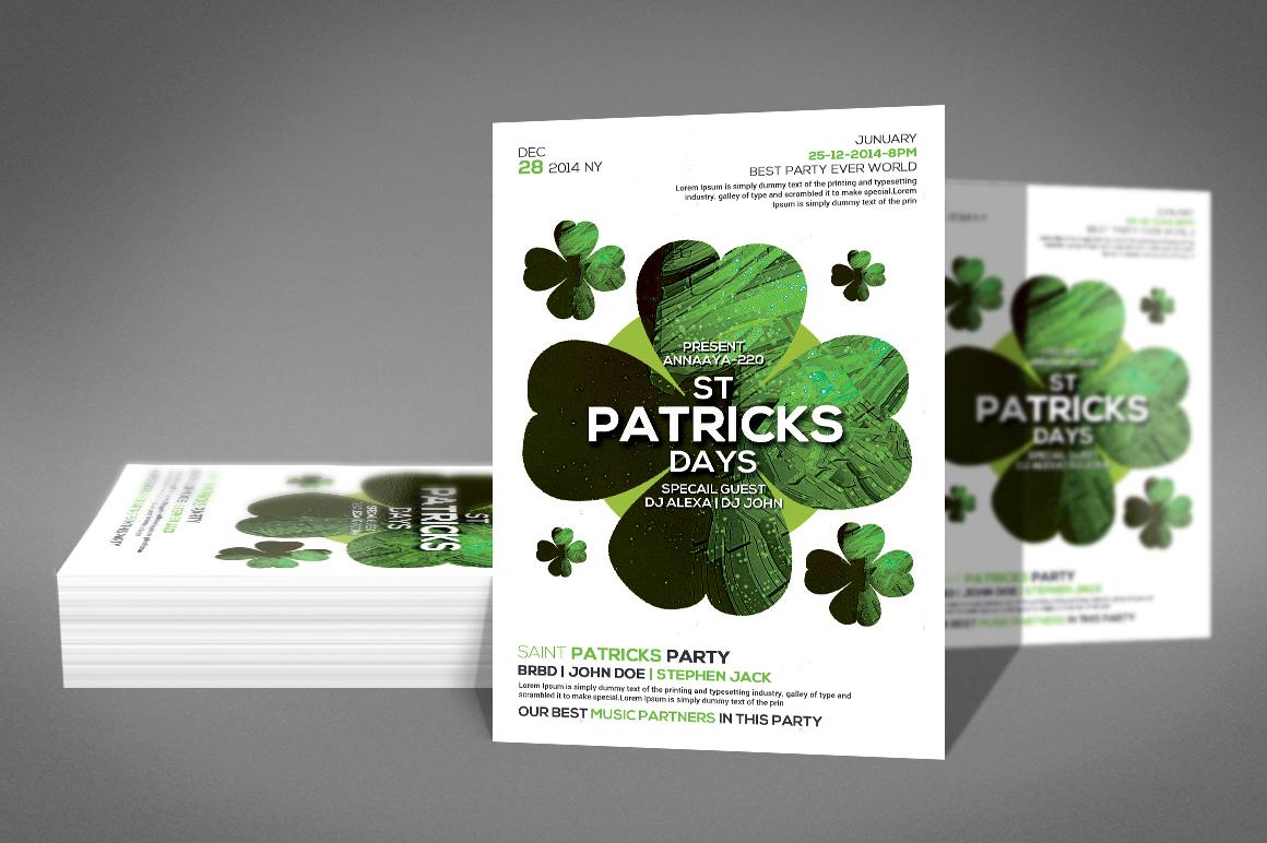 St. Patricks Flyer example image 2