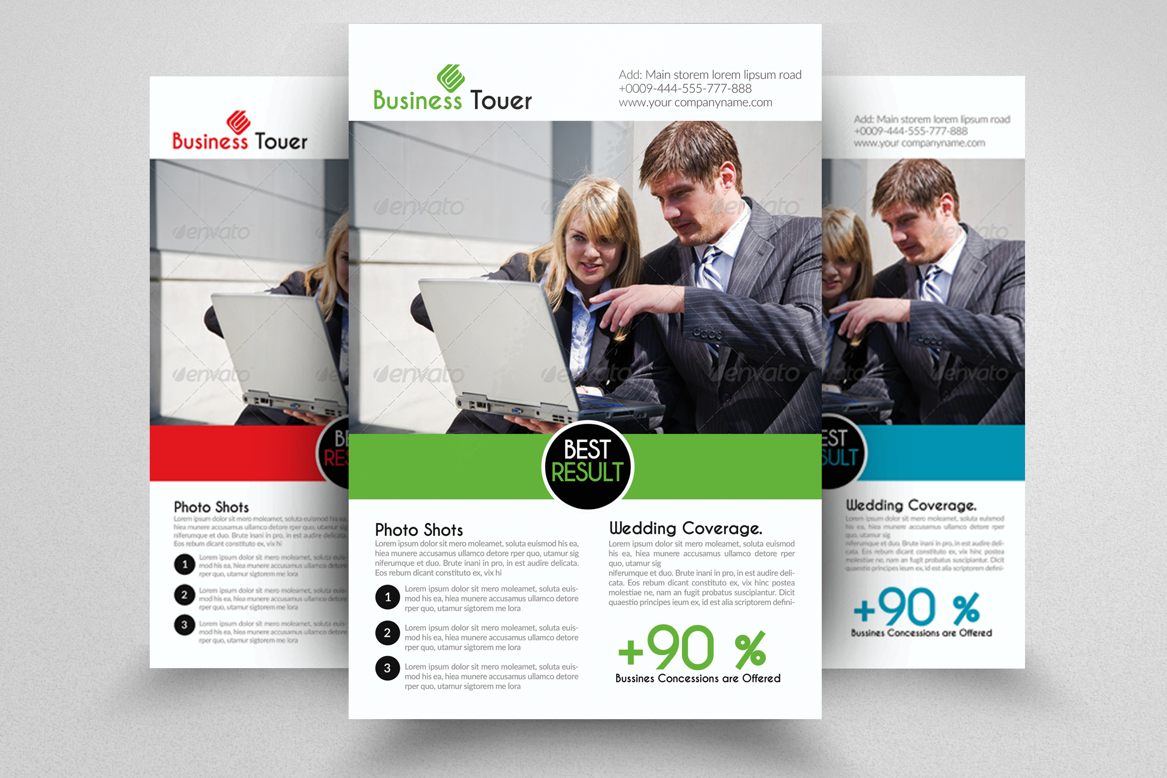 Legal Business Advisor Flyers example image 1