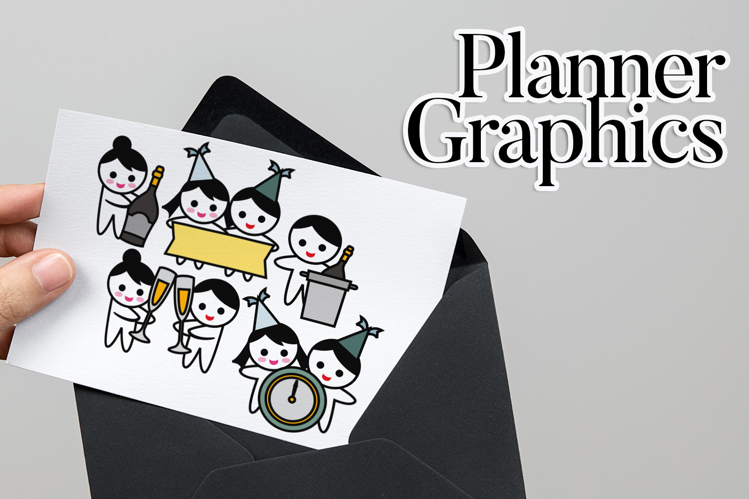 Holidays Bundle - Planner Graphic Illustrations example image 16