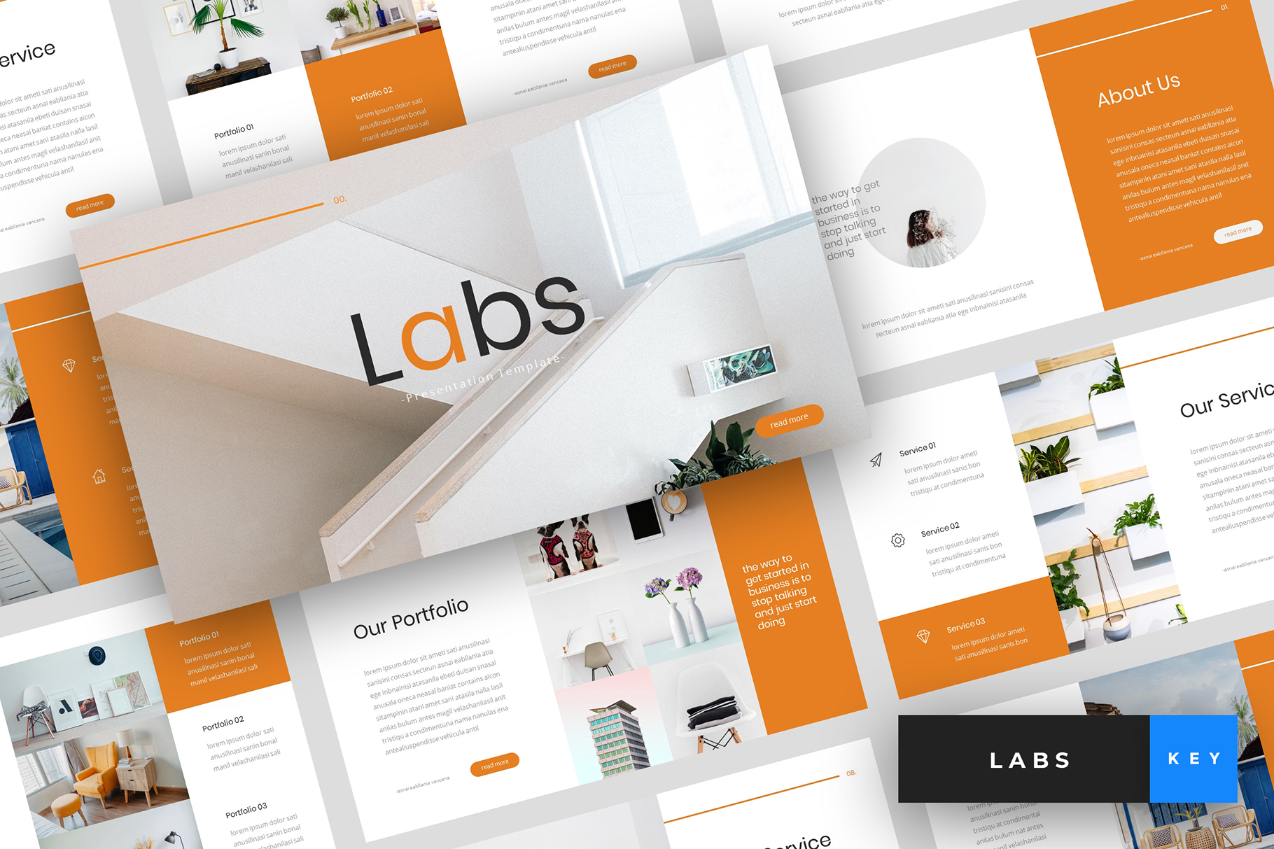 Labs - Creative Keynote Template example image 1